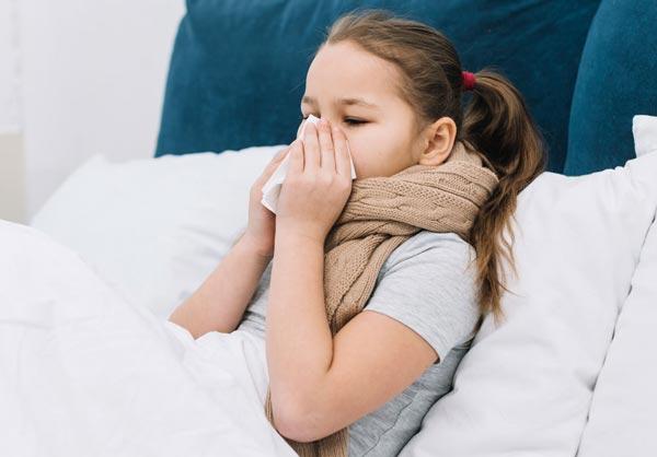 Meu Filho está gripado, mesmo assim posso fazer a vacina ?